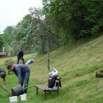 Poleňáci sází stromy - U Pekla