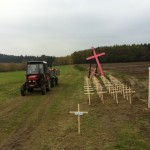 Kříž na Budínce 29. října 2011