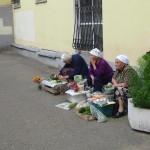 Pouliční prodejkyně