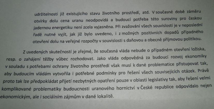 odpoved příloha č. 3