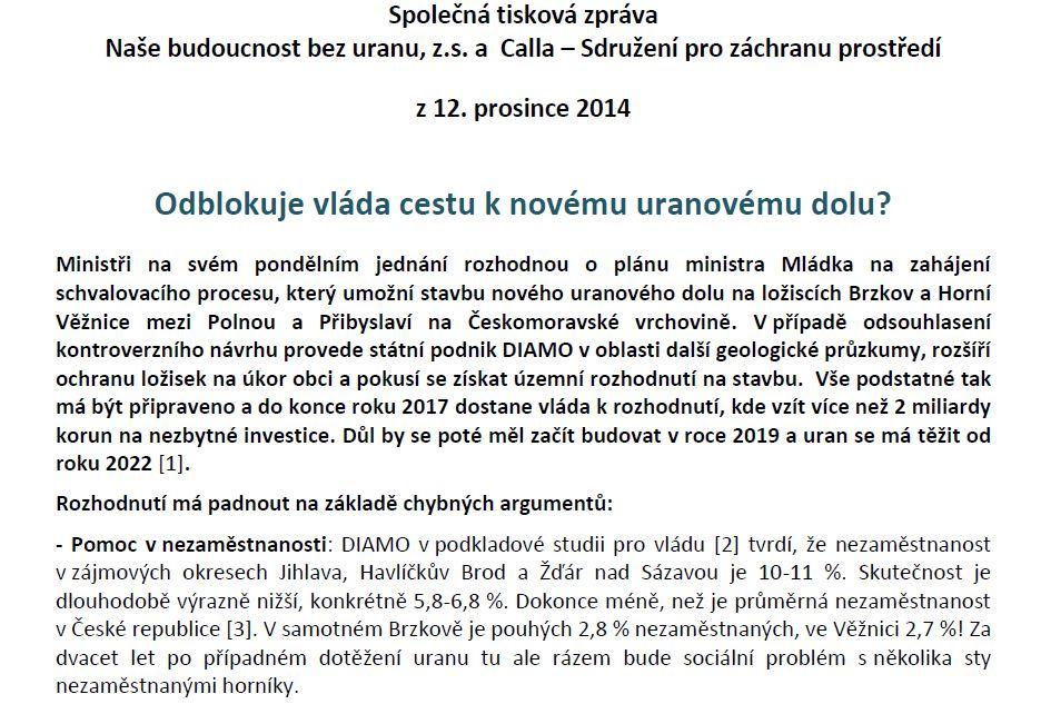 tiskovka 12.12. 2014 část 1