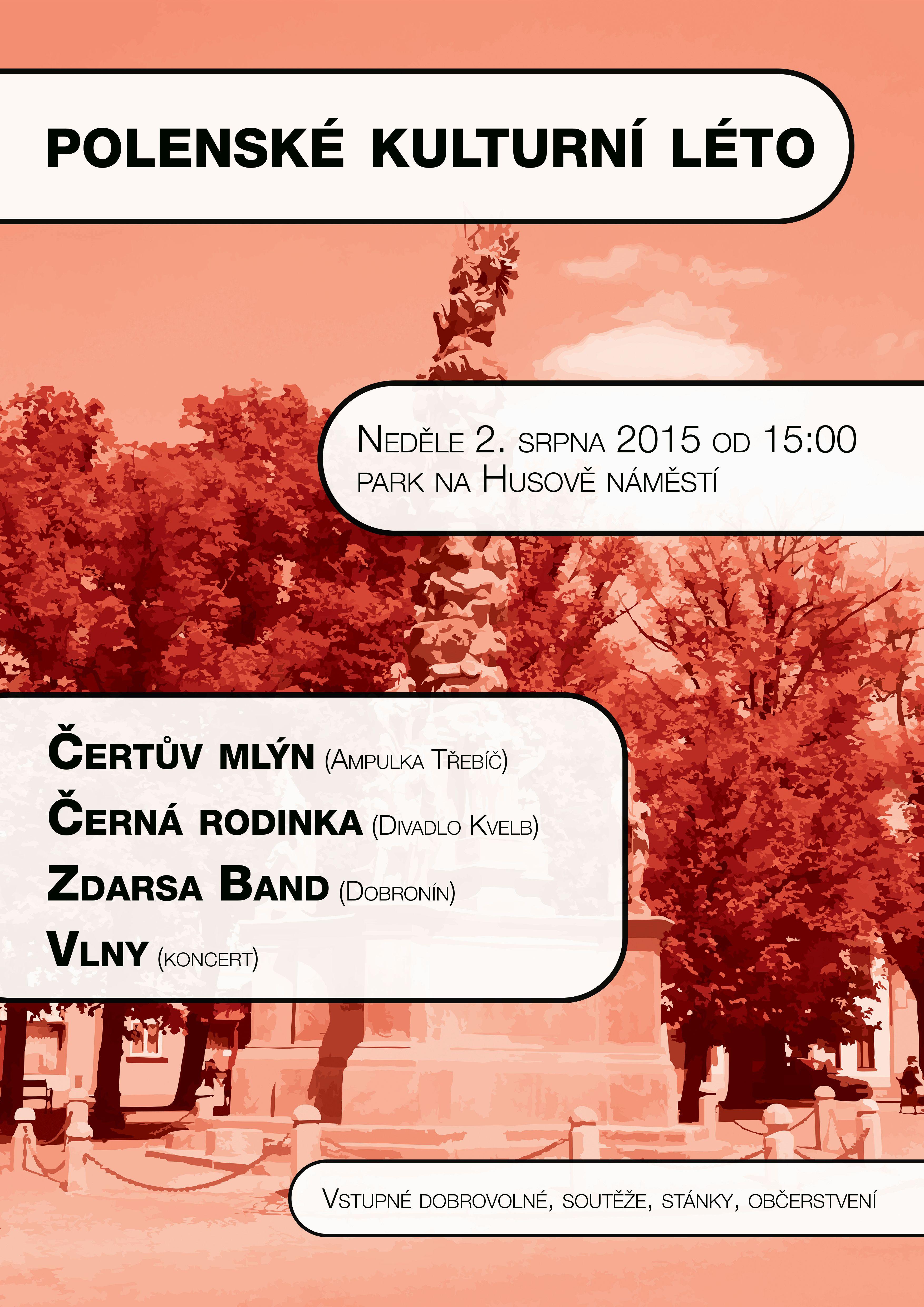 Kulturní léto 2015 - 2.srpna