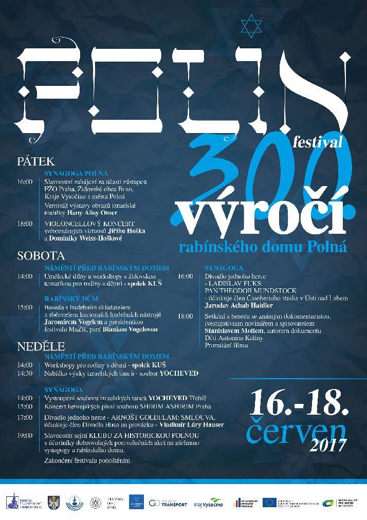 Plakát festival Polin